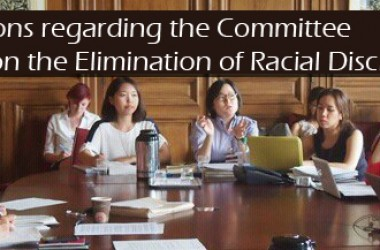 UN Convention on the Elimination of Racial Discrimination.