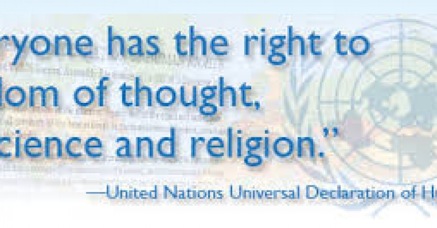The right to freedom of thought, conscience and religion