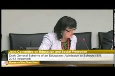 Discrimination in school hurts, Jane Donnelly tells Dail Committee