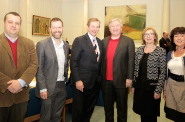 This photo of Atheist Ireland meeting the Taoiseach is significant for who it does not include
