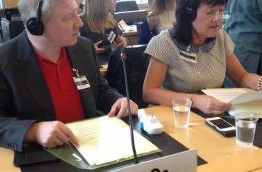 Atheist Ireland in Geneva this week at UN hearing on rights of the child