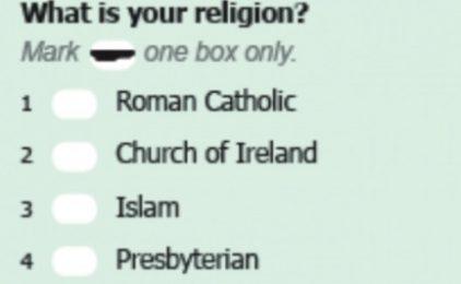 The spiritual census!