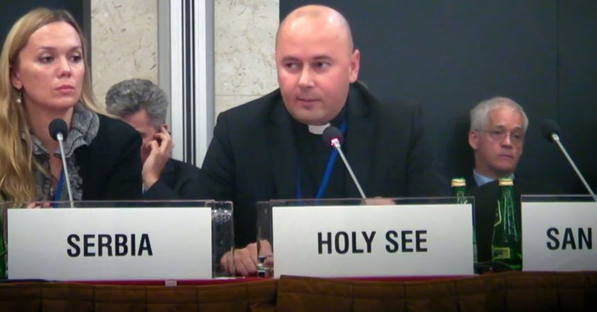 Holy See responds to Atheist Ireland at OSCE in Warsaw about religious-run schools