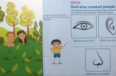Catholic ethos schools integrate the myth of Adam and Eve with the science of evolutionary biology