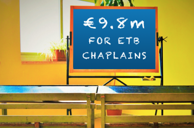 Another €9.8 million of State money for faith formation in ETB schools