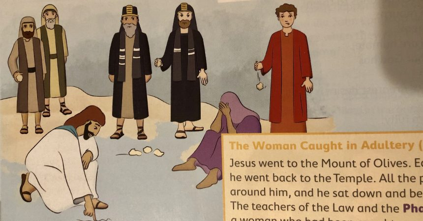 Catholic School lesson plan promotes sexist, violent, antisemitic, forged Bible passage