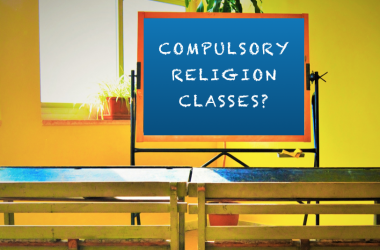 Religion should not, and can not, be made compulsory in Irish schools