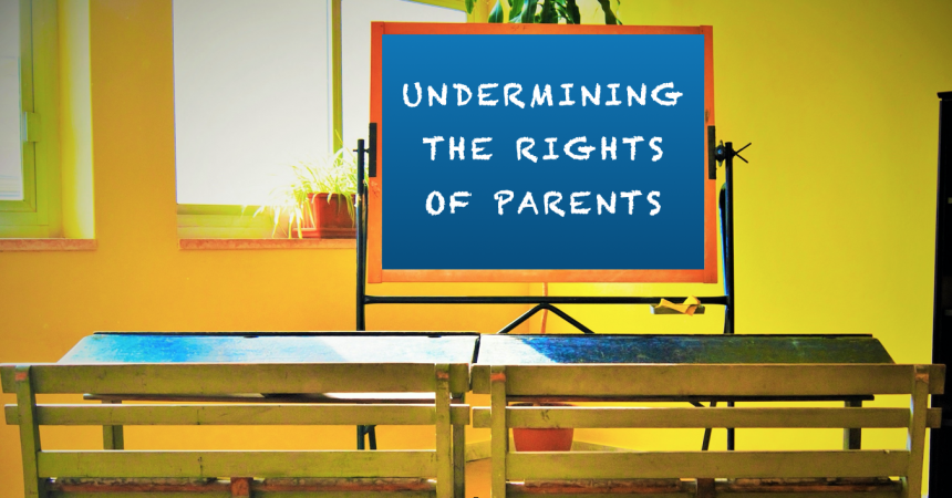 Why does the state not understand the Constitutional right of parents to freedom of conscience?