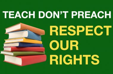 The Constitutional right to not attend religious instruction (explicitly) and other subjects (implicitly)