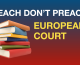 European Court says opting out of religion class must not place an undue burden on parents