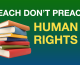 Teach, Don't Preach: Secular Education is a Human Right