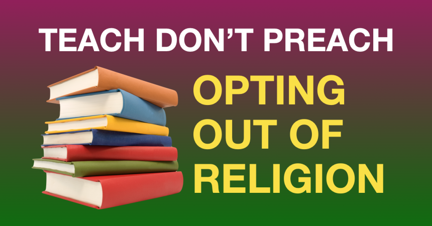 The Right to Opt out of Religion