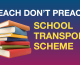 School Transport scheme discriminates against atheists