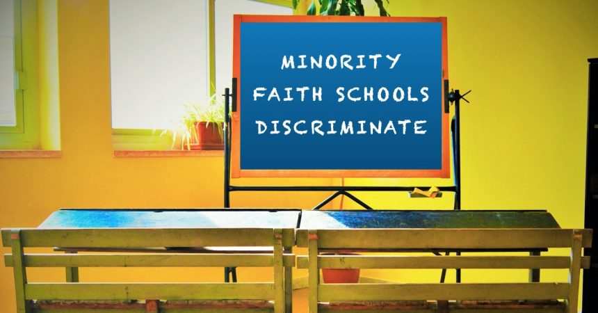 Religious discrimination in access to schools still exists