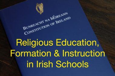 Religious education, formation, and instruction in Irish schools